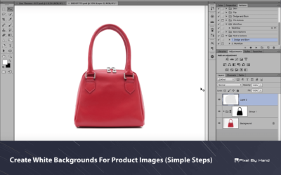 Create White Backgrounds For Product Images (Simple Steps)