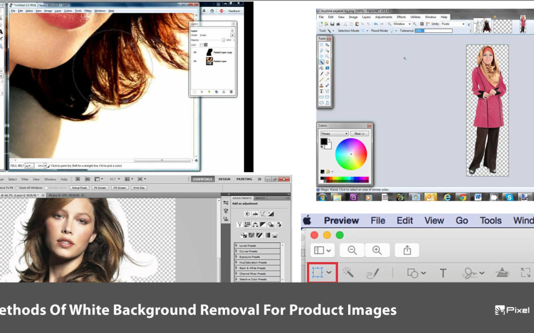 4 Methods Of White Background Removal For Product Images
