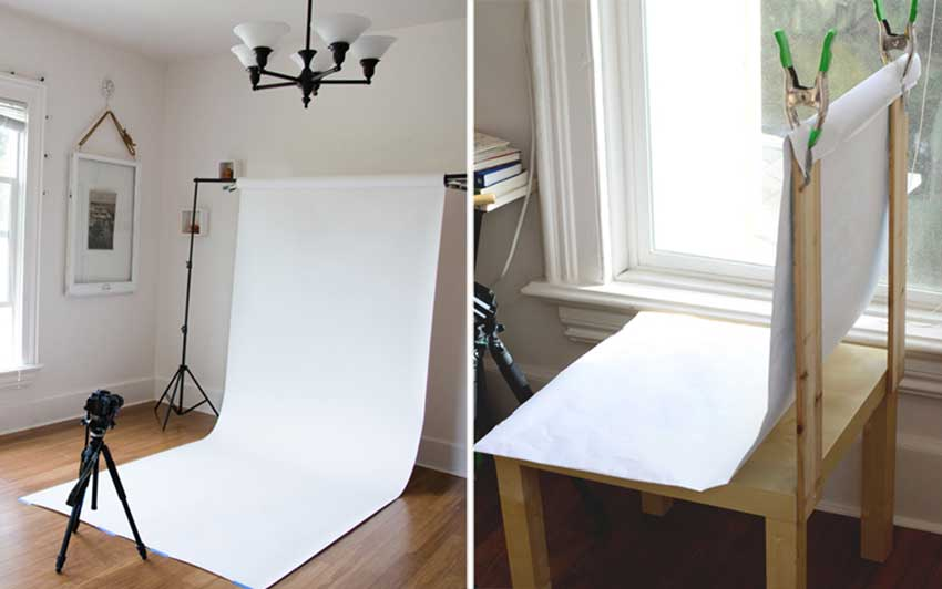 Simple Product Photography Setup On A