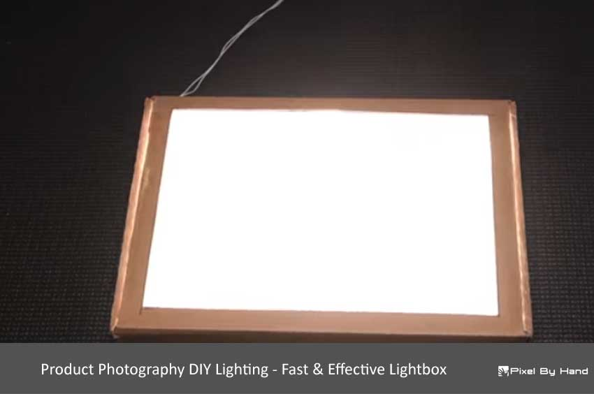 Product Photography DIY Lighting - Fast & Effective Lightbox